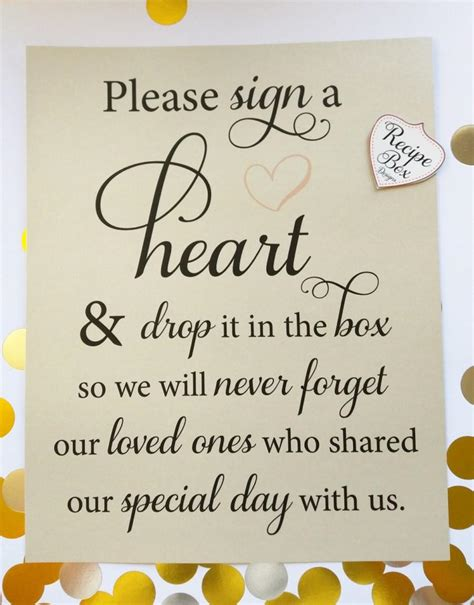 Wedding Box Signs by Sign A And Drop It In The Box 8x10 Wedding