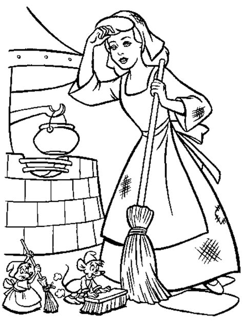 cinderella coloring pages cinderella coloring pages coloringpages1001