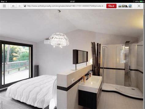 open plan ensuite idea   couple  bedrooms