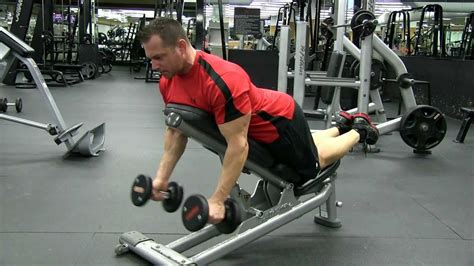 bicep curl with bench press incline dumbbell prone hammer bicep curl