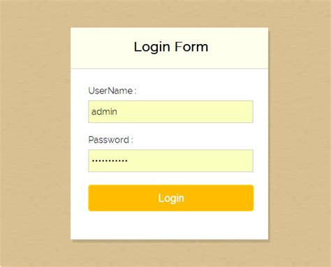 7 free php login form templates to download free