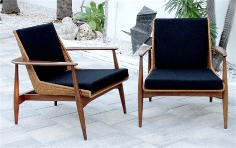 Kursi Eames peabody vintage modern mid century lounge chairs nemschoff eames eames
