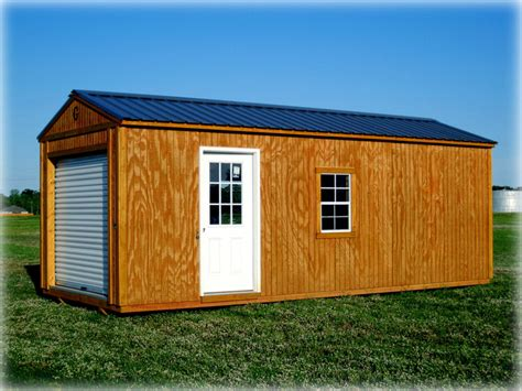 Portable Sheds And Garages by Portable Buildings Cut N Shoot