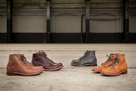 Sepatu Redwing Heritage wing blacksmith collection just released