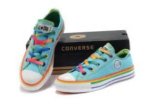colorful converse converse chuck all sky blue colorful edge