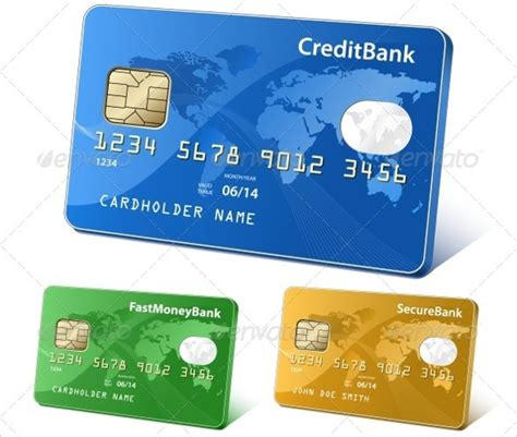 credit card business card template credit template 8 free word pdf eps documents