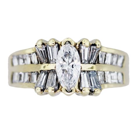 1 carat marquise cut engagement ring raymond