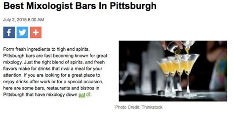 top bars in pittsburgh press the summit pittsburgh