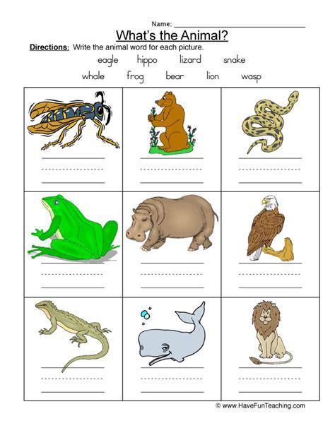 new year 2015 animal worksheets animal names worksheet