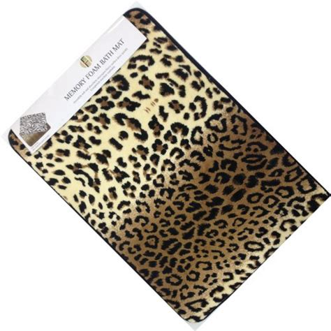 leopard print bathroom accessories leopard print bathroom decor
