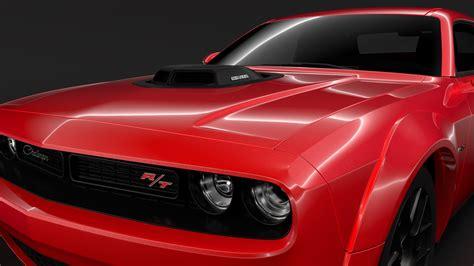 2017 Challenger Models by Dodge Challenger Rt Shaker Widebody 2017 3d Model Buy