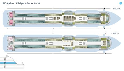 deck 10 aidaprima deckspl 228 ne f 252 r aidaperla aida kreuzfahrten
