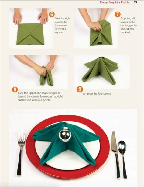 folding a fir tree fir tree napkin fold how to fold your napkin like a fir tree for the table