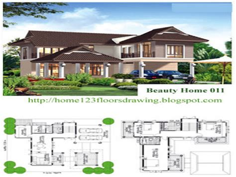 tropical home floor plans tropical house designs and floor plans tropical house