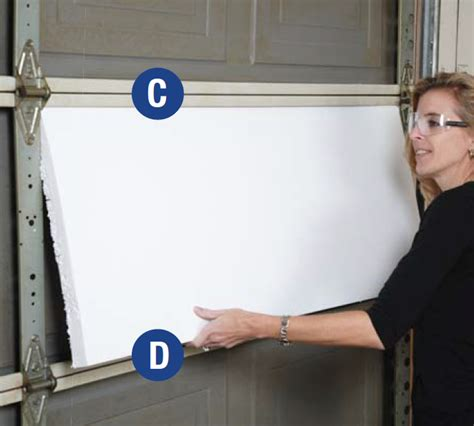 Diy Insulate Garage Door Diy Garage Door Insulation Kit Installation Insulfoam