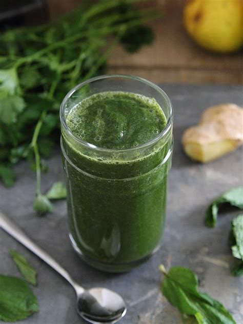 Detox By Replacing One Green Smoothie Per Day by Detox Green Smoothie Running To The Kitchen
