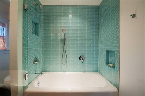 glazed bathroom tile 25 bathtub tile designs decorating ideas design trends