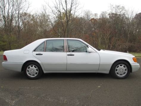 how cars engines work 1993 mercedes benz 500sel navigation system find used 1993 mercedes benz 500 sel ticking from upper engine lifters runs and drive in