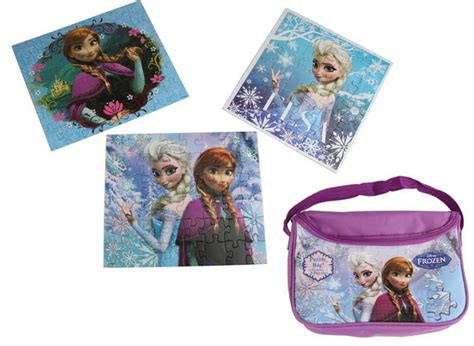 Frozen Fashion Bag disney frozen carry and go 3 puzzles in a fashion bag only