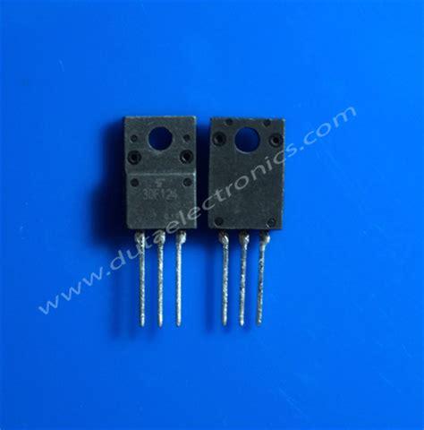 transistor fet 30f124 komponen electronics spare part