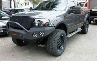2004 2006 f150 offroad winch type bumpers and fender
