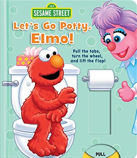 Elmo Goes To School Left The Flap Board Book the passive potty method that works for us