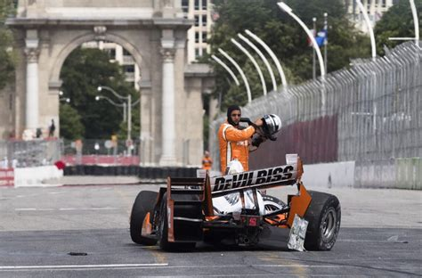 honda indy toronto changes to honda indy toronto course cause some drivers