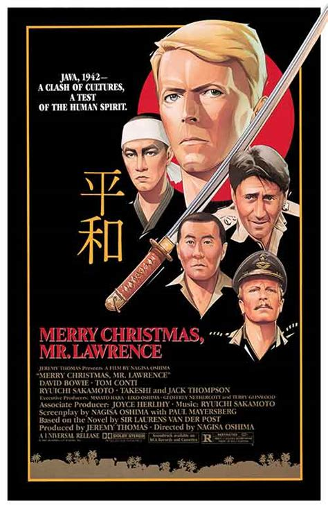 merry christmas  lawrence  posters   poster warehouse moviepostercom