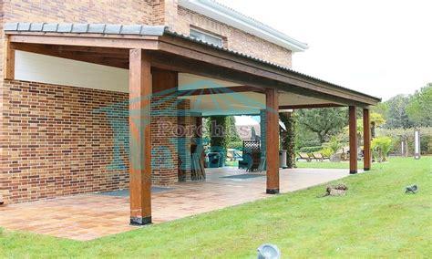 fotos de porches de madera porches de madera fabricacion instalacion y venta madrid