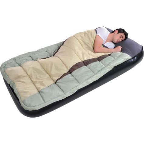 air mattress 2 in 1 air bed cing adults sleeping bag airbed ebay
