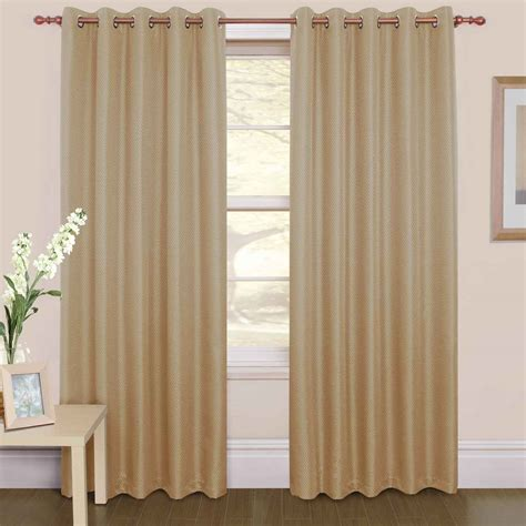 skylight curtains light brown silky mid century and modern style double side