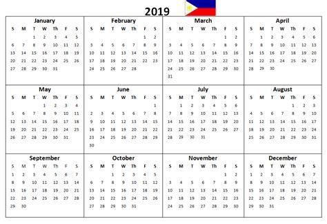blank philippines  printable calendar printable calendar  printable calendar