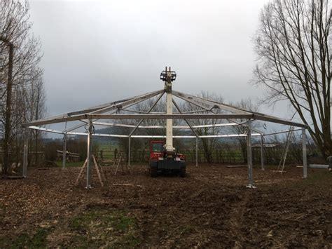 tent building tent building services international builds 2 horse