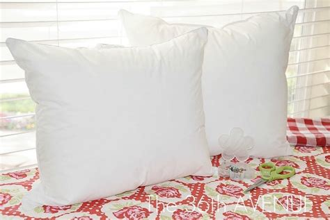 craft tip bed pillow into two throw pillows u create