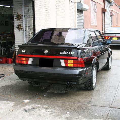 Alfa Romeo 4 Door by 1989 Alfa Romeo Verde Black 5 Speed 3 Liter 4 Door
