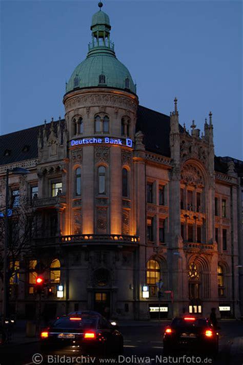 deutsche bank celle deutsche bank geb 228 ude in strassenverkehr nachtlichter