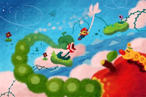 signs of luigi gusty garden galaxy an print by andy