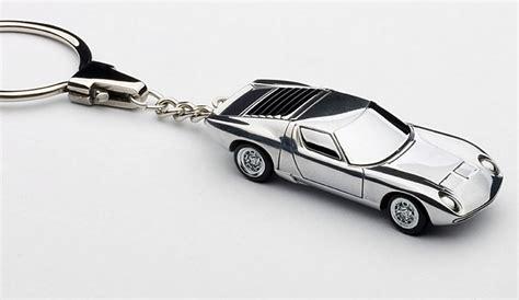 Lamborghini Keychain Lamborghini Miura Sv Aluminum Car Keychain Legacy Motors