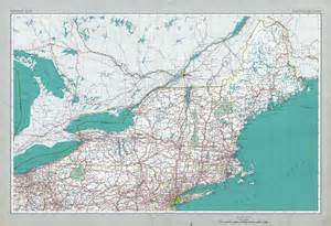 road map of northeast united states the national atlas of the united states of america perry