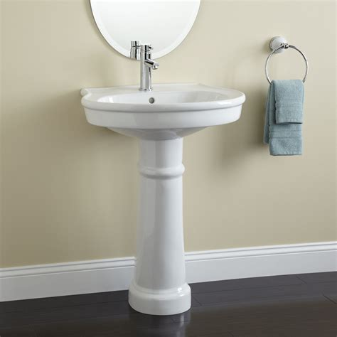 pedestal sinks for small bathrooms darby pedestal bathroom