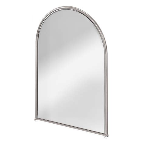 chrome framed bathroom mirror burlington arched mirror with chrome frame a9 chr at victorian plumbing uk