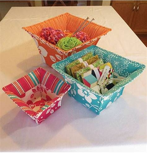 pattern sewing basket 17 best images about sew fabric baskets and trays on