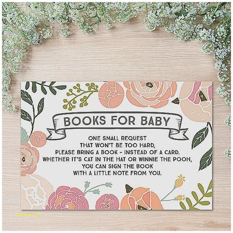 Baby Shower Books Instead Of Cards Invitation Wording by Baby Shower Invitation Fresh Baby Shower Books Instead Of
