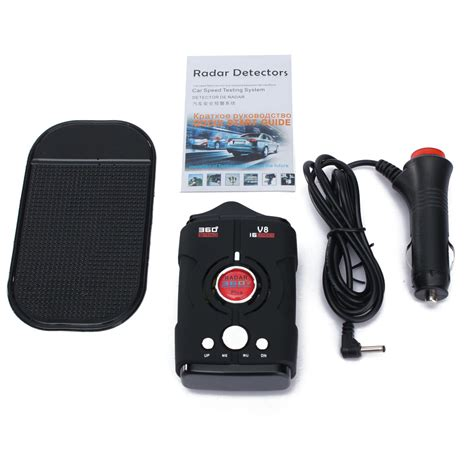 Speed Detector laser radar gun speed detector car motorbike 16 band 360