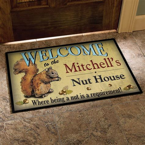 Personalized Doormats by Personalized Doormat 17 Quot X 27 Quot Walmart