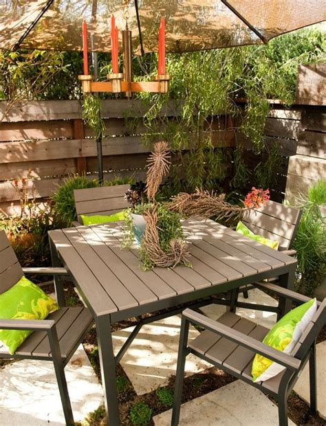Outdoor Patio Furniture For Small Spaces Outdoor Furniture For Small Spaces One Decor