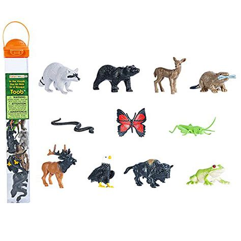 in the woods toob mini figures safari ltd new toys