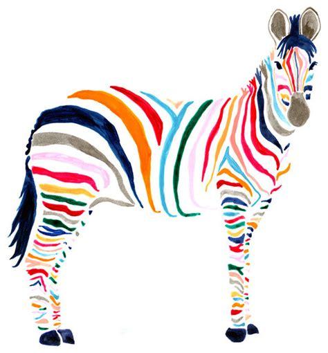 Zebra Print Home Decor zebra print contemporary artwork by stampa