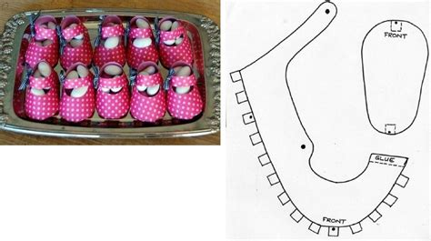 shoe template for baby shower diy candy baby shoes box pictures photos and images for