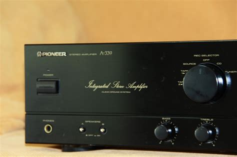 pioneer a 339 integrated lifier sold